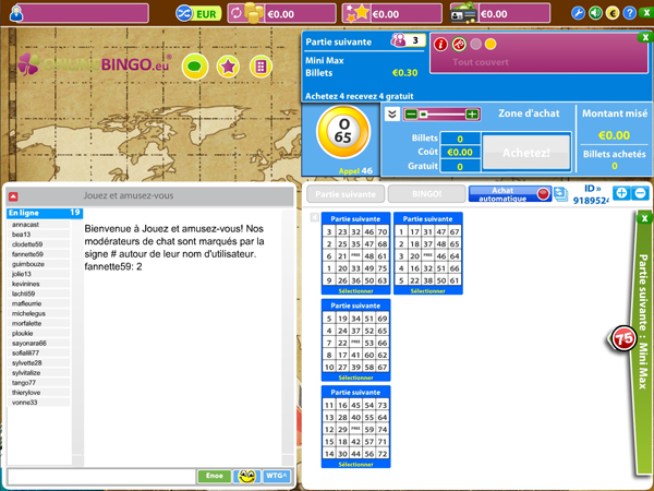 jeu de bingo en ligne jouer au loto bingo sur internet. Black Bedroom Furniture Sets. Home Design Ideas